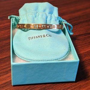 Tiffany & Co. Atlas Pierced Hinged Bangle